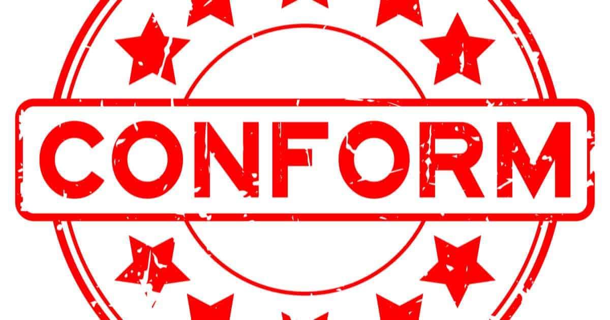 Certificate of conformity (COC)