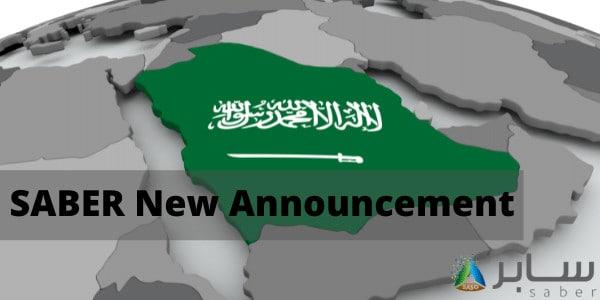 SABER New Announcement