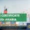saber certificate